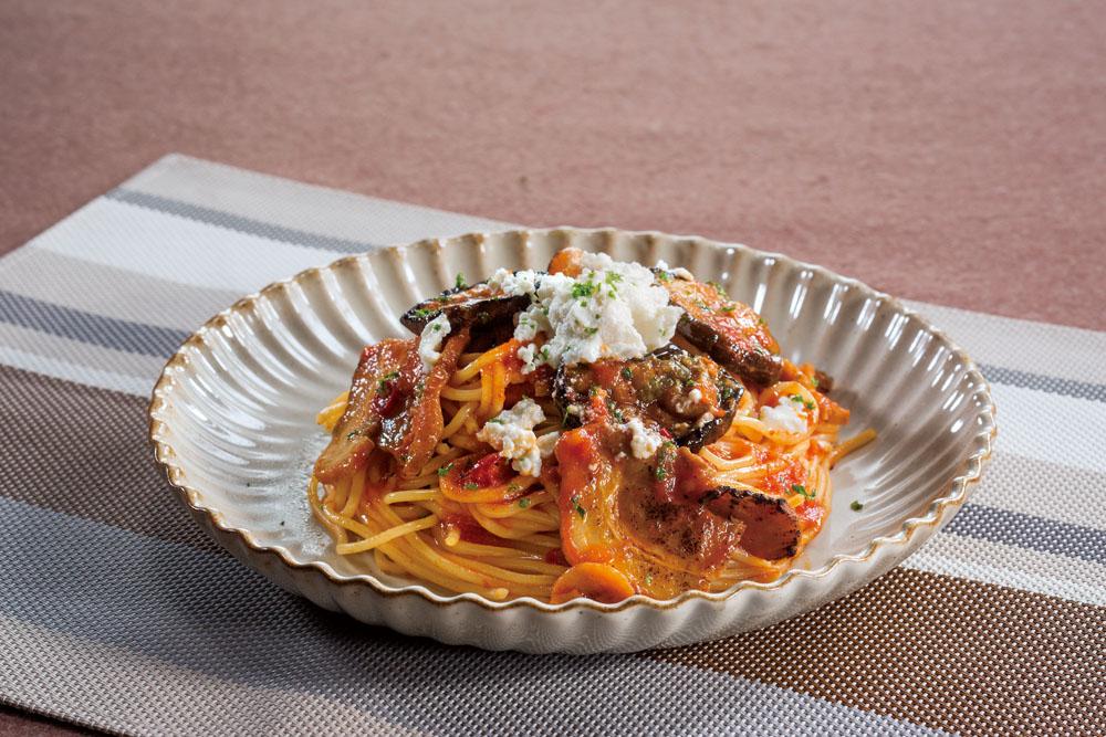 イタリア産リコッタチーズとドルチェポルコのトマトパスタ.jpg